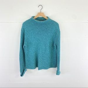 Royal Robbins Chunky Knit Mock Turtleneck Sweater